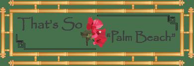 That's So Palm Beach Logo
